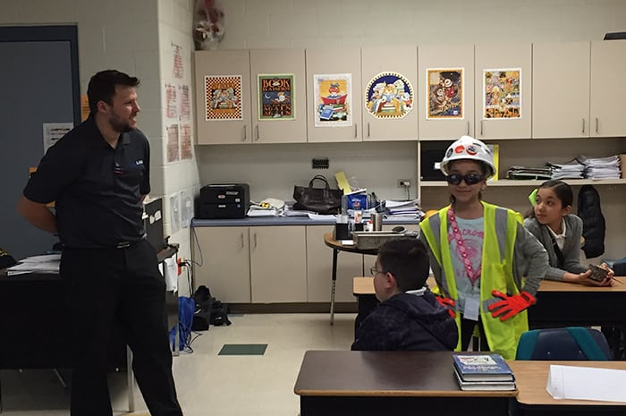 Career Day at Malakoff Elementary