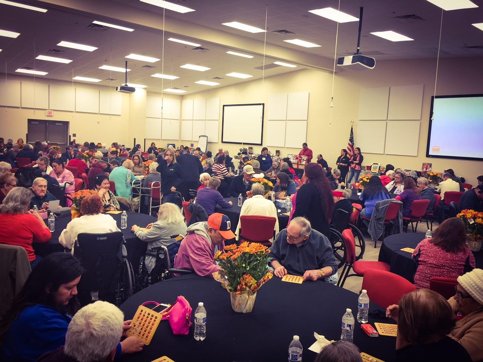 Thanksgiving BINGO: Senior Citizens