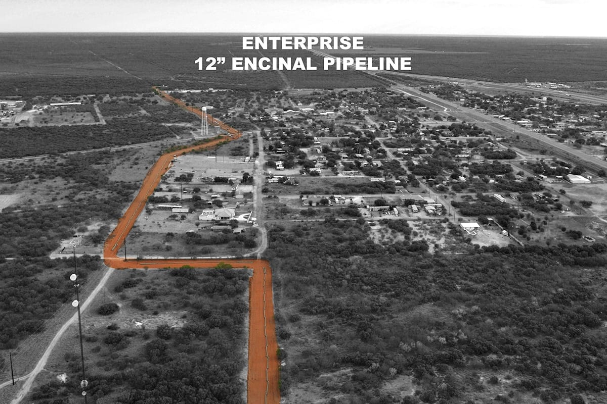 Enterprise 12″ Pipeline